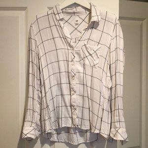Button down shirt - medium